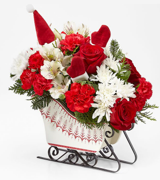 FTD Holiday Traditions Bouquet - DELUXE