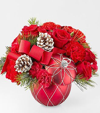 Ftd seasons greetings bouquet deluxe christmas holiday ftd seasons greetings bouquet deluxe m4hsunfo