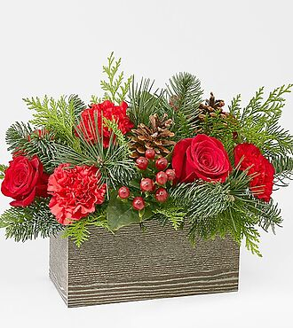 Christmas Cabin Bouquet - 20-C6