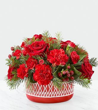 Ftd believe mug bouquet by hallmark deluxe christmas Hallmark flowers
