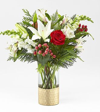 Golden Holiday Bouquet - 20-C9