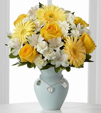 FTD Mothers Charm Bouquet - Boy - DELUXE