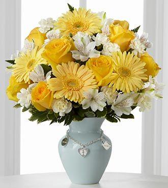 FTD Mothers Charm Bouquet - Boy - PREMIUM