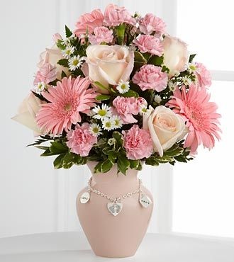 FTD Mothers Charm Bouquet - Girl - DELUXE