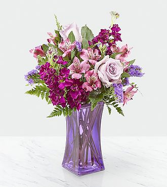 Purple Presence Bouquet - CCL