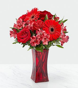 Red Reveal Bouquet