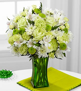 FTD Lime-Licious Bouquet - DELUXE