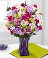 FTD Purple Pop Bouquet - DELUXE