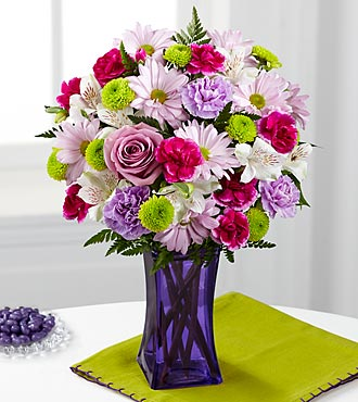 FTD Purple Pop Bouquet - CDL
