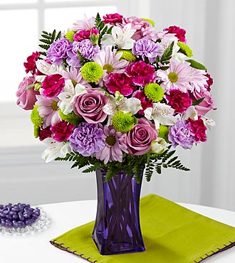 FTD Purple Pop Bouquet - PREMIUM