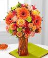 Ftd Orange Escape Bouquet Deluxe