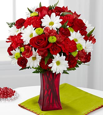 FTD Cherry Sweet Bouquet - DELUXE