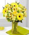 FTD Lemon Groove Bouquet - PREMIUM