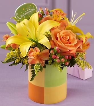 Ftd Congratulations Bouquet Same Day Delivery Flowers Fast