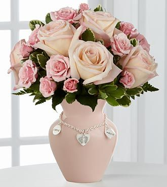 FTD Mothers Charm Rose Bouquet - Girl