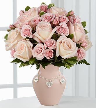 FTD Mothers Charm Rose Bouquet - Girl - PREMIUM