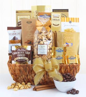 http://www.FlowersFast.com - Delightful Decadence Chocolate Gift Basket – FedEx