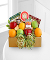 Image of Standard version for Golden State Deluxe Fruit and Cheese Box - FedEx