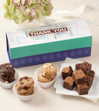 http://www.FlowersFast.com - Mrs. Fields Thank You Mini Trunk – FedEx
