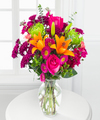 Image of Standard version for Horizon Hues Bouquet - FedEx