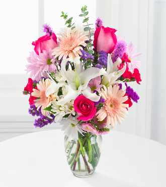 Peach Daiquiri Bouquet - FedEx - WGF103