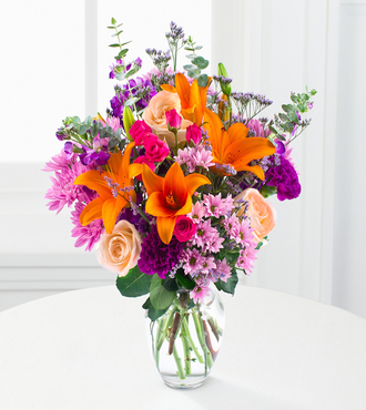 Bright is Beautiful Bouquet - FedEx