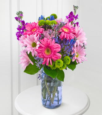Positively Purple Bouquet - FedEx - WGF106
