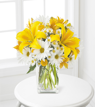 Come Rain or Come Shine Bouquet - 14 Stems - FedEx