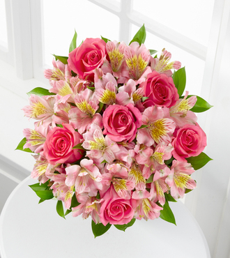 Dreamland Pink Bouquet - FedEx