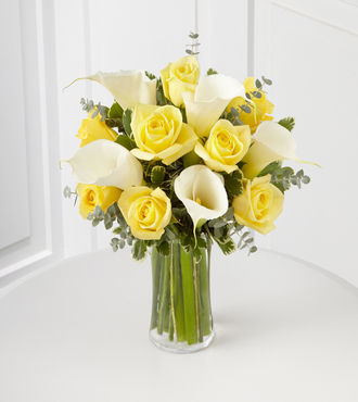 Spread the Sunshine Bouquet - 13 Stems - VASE INCLUDED - FedEx