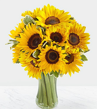 Endless Summer Sunflower Bouquet - FedEx - WGFB68