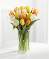 Image of Standard version for Bright Smiles Tulip Bouquet - 15 Stems - FedEx