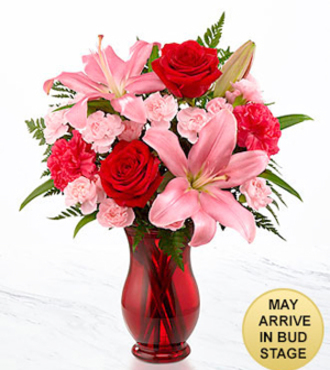 Heart's Emotions Valentine's Day Bouquet - FedEx