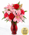 Image of Standard version for Heart's Emotions Valentine's Day Bouquet - FedEx