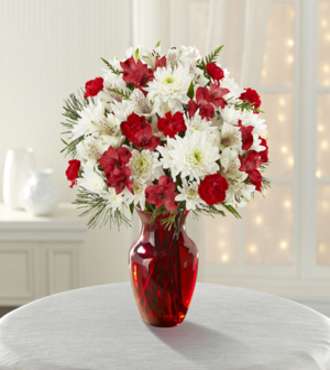 Joy to the World Holiday Bouquet - FedEx - WGFK841
