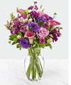 Image of Standard version for Love out Loud Bouquet w-vase - FedEx