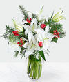 Image of Standard version for Christmas Bouquet - FedEx