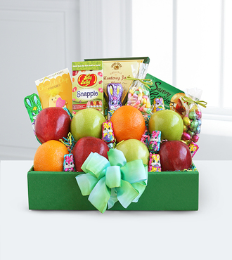 Easter Delivery Fruit and Treats Box - FedEx - WGG142