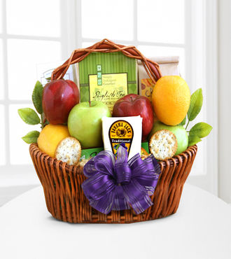 Fruitful Greetings Gourmet Gift Basket - FedEx - WGG179