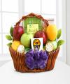 Fruitful Greetings Gourmet Gift Basket - FedEx