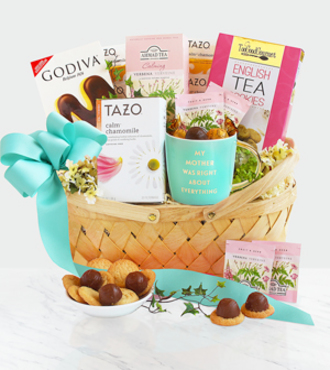 Tea and Desserts for Mom - FedEx