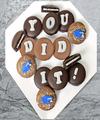 Image of Belgian Chocolate Dipped You Did It Graduation Oreo Gram - FedEx
