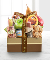Happy Father's Day Fruit and Gourmet Gift Box - FedEx