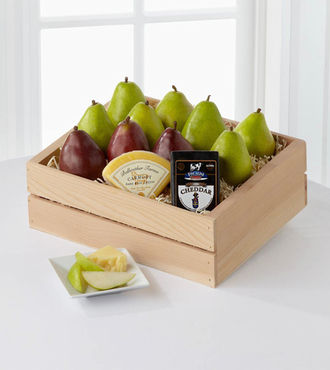Perfect Pear Gift Basket - Deluxe - FedEx - WGGF12