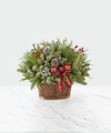 Image of Standard version for Evergreen Dream Holiday Basket - FedEx