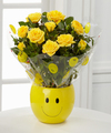 Sending a Smile Mini Rose Plant - FedEx