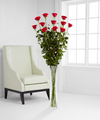Ultimate Rose Bouquet - 12 Stems 5 Foot Roses - FedEx