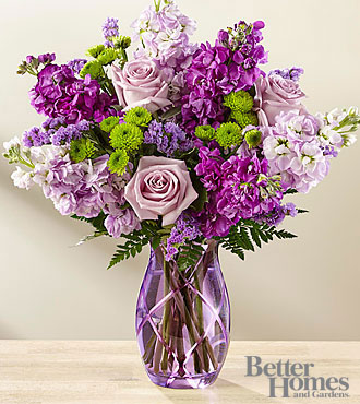 FTD Sweet Devotion Bouquet by Better Homes and Gardens - DELUXE