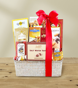 Deluxe Chocolate Indulgence Basket - FedEx - WGX099