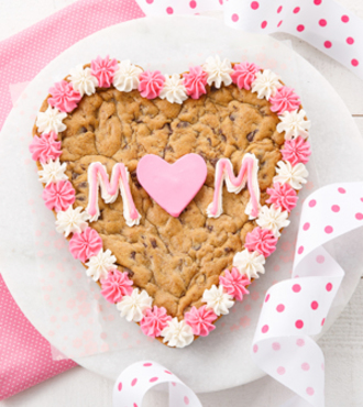 Mom Heart Cookie Cake - FedEx